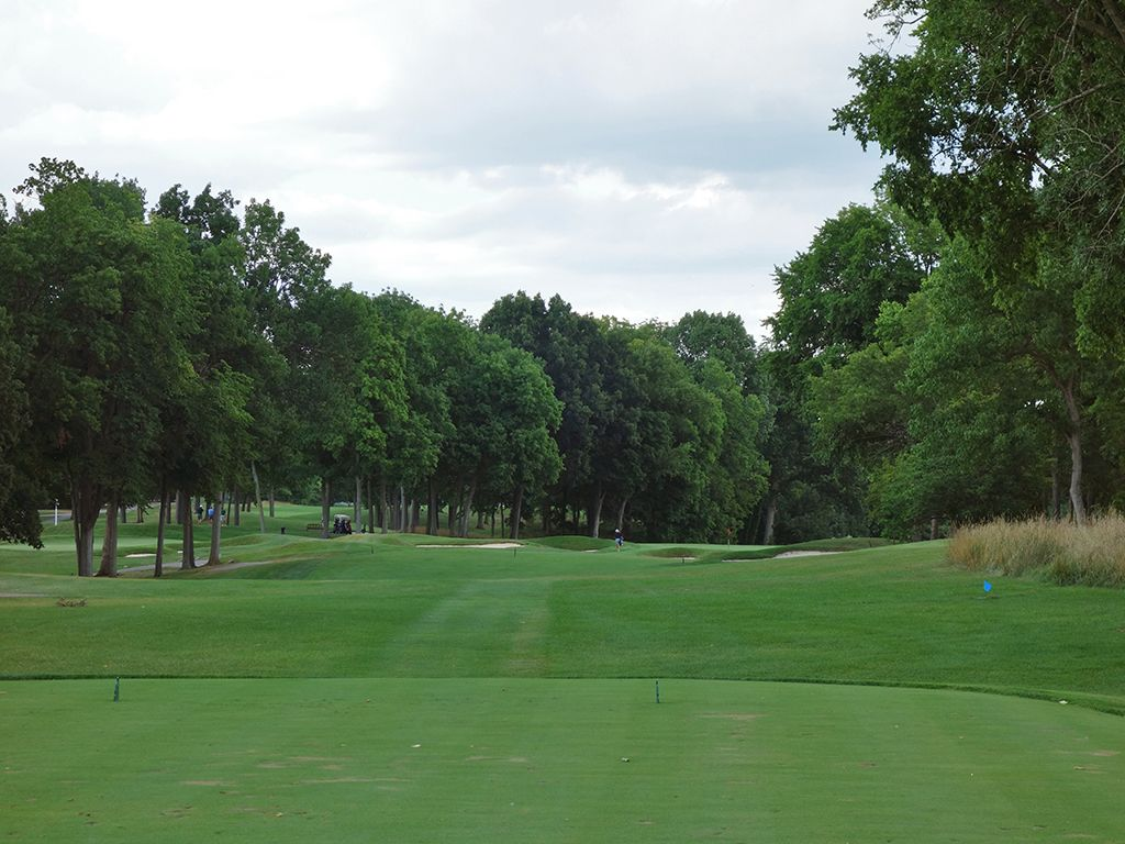17th Hole at NCR Country Club (South) (353 Yard Par 4)