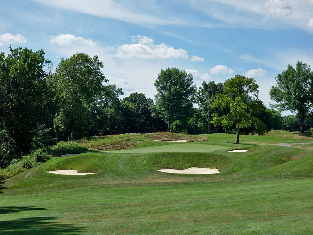 6th Hole at NCR Country Club (South) (558 Yard Par 5)