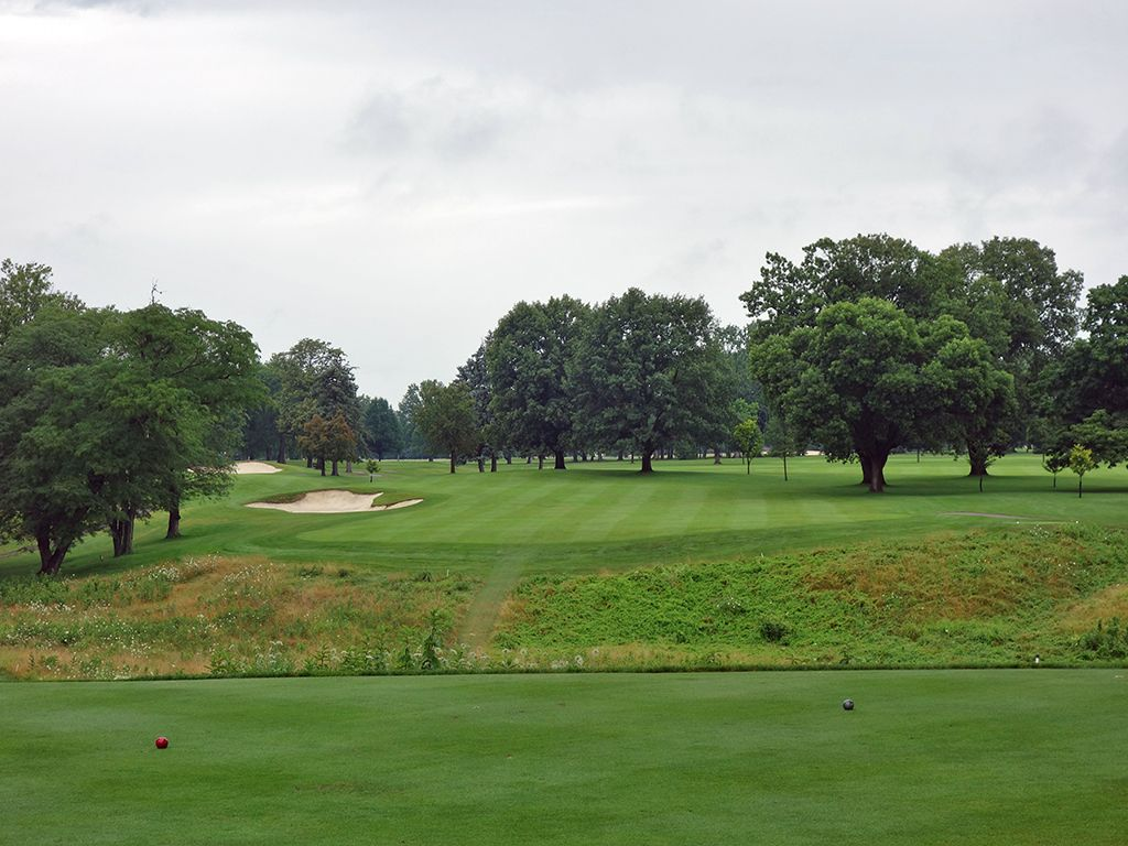 11th Hole at Ohio State University (Scarlet) (473 Yard Par 4)