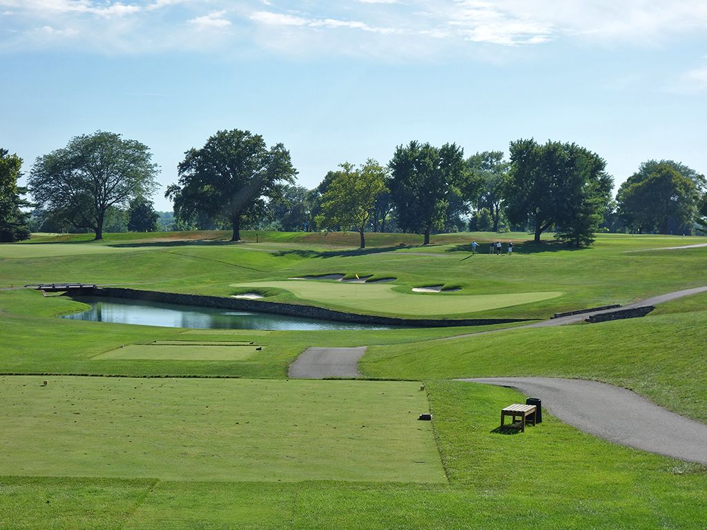 17th Hole at Scioto Country Club (187 Yard Par 3)