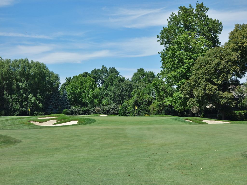 7th Hole at Scioto Country Club (376 Yard Par 4)
