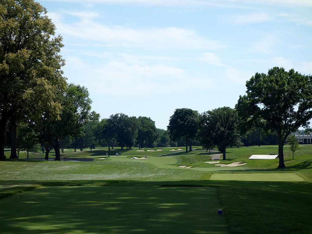 8th Hole at Scioto Country Club (516 Yard Par 5)