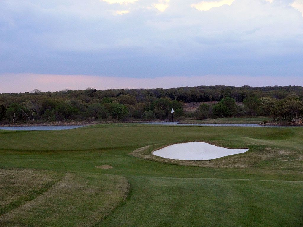16th Hole at Karsten Creek Golf Club (471 Yard Par 4)