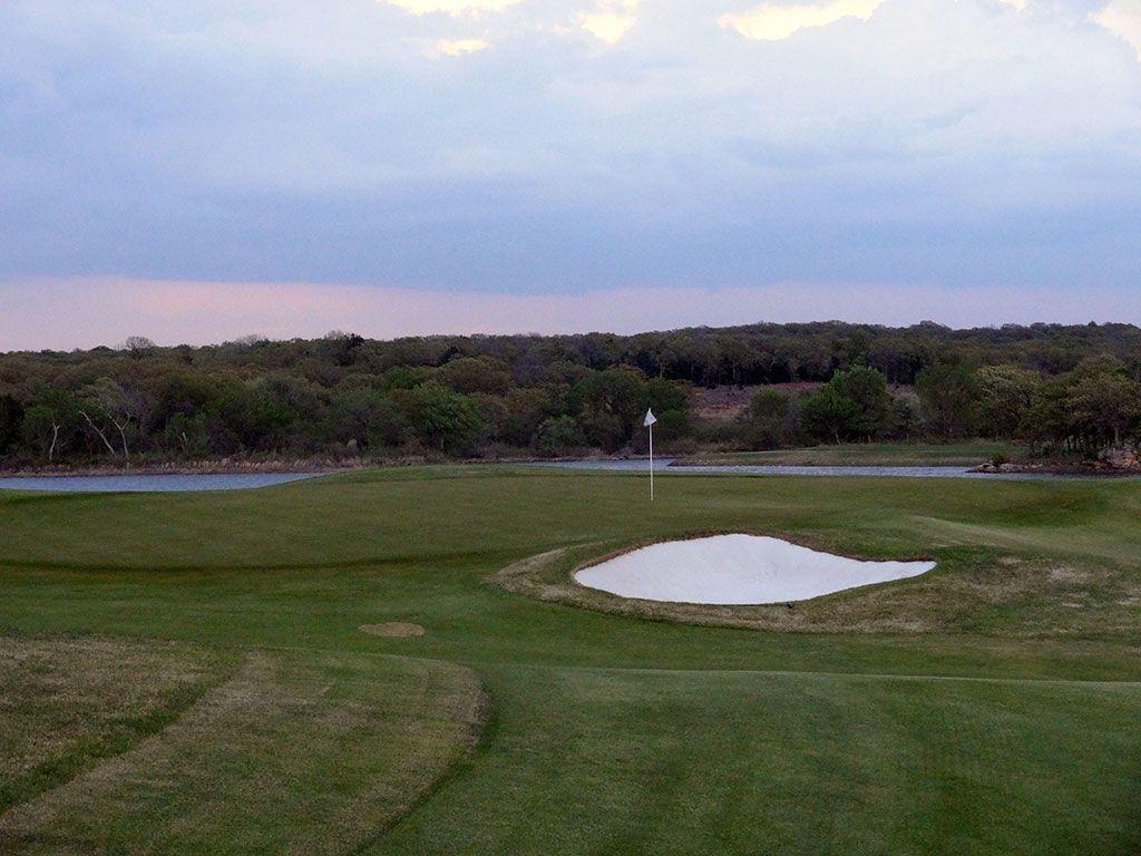 16th Hole at Karsten Creek Golf Club (471 Yard Par 4)