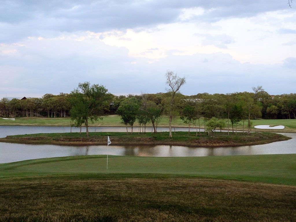 17th Hole at Karsten Creek Golf Club (471 Yard Par 4)