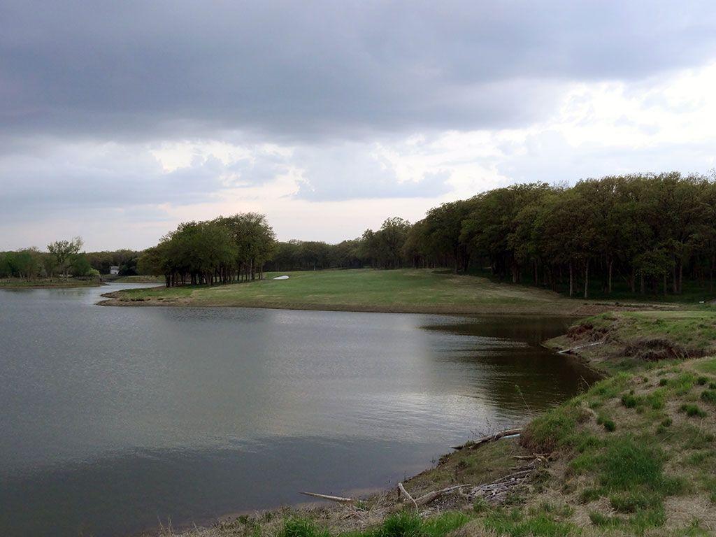17th Hole at Karsten Creek Golf Club (471 Yard Par 4)