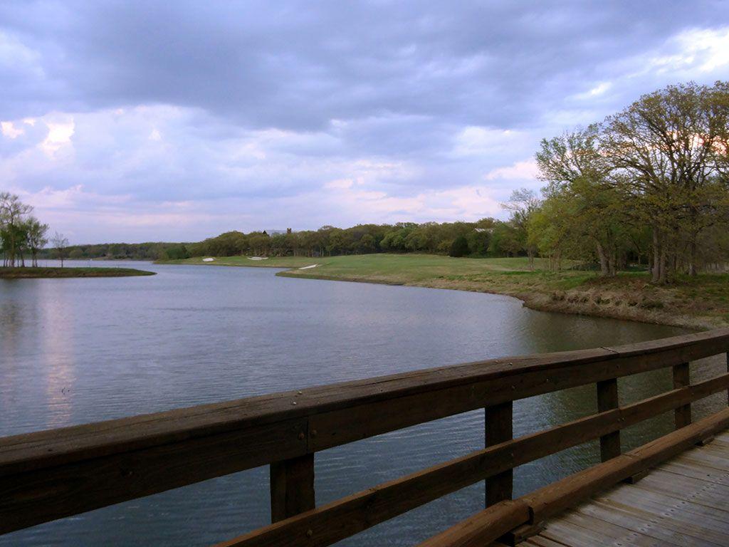 18th Hole at Karsten Creek Golf Club (551 Yard Par 5)