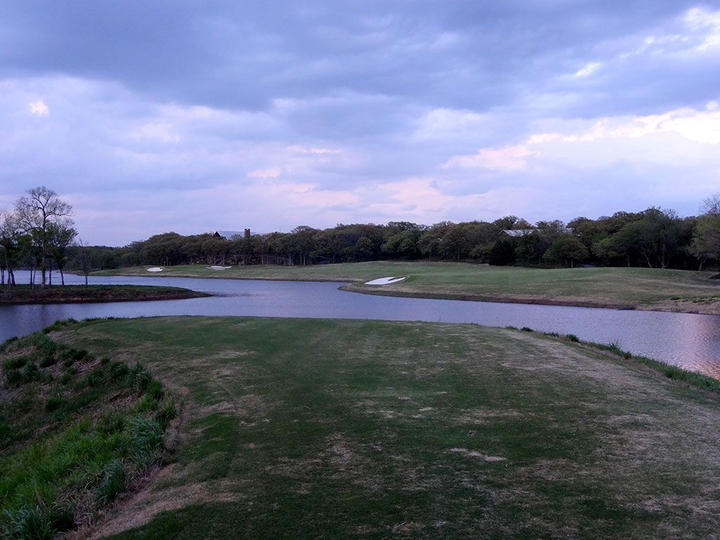 18th Hole at Karsten Creek Golf Club (551 Yard Par 5)