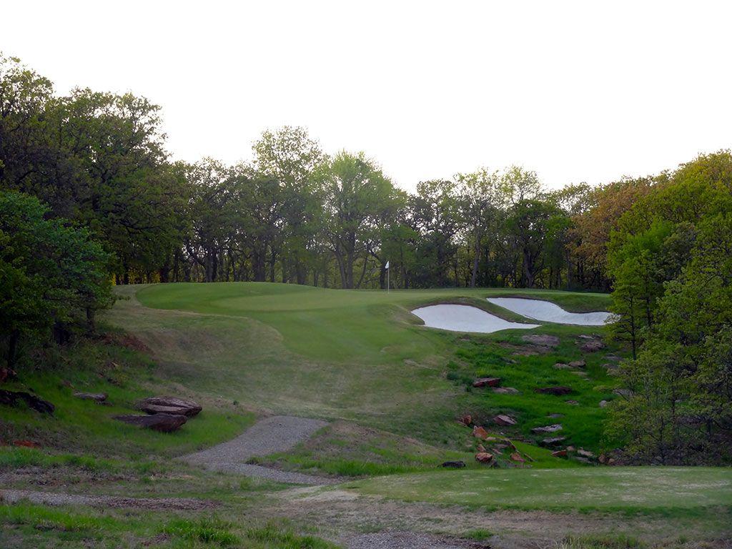 7th Hole at Karsten Creek Golf Club (206 Yard Par 3)