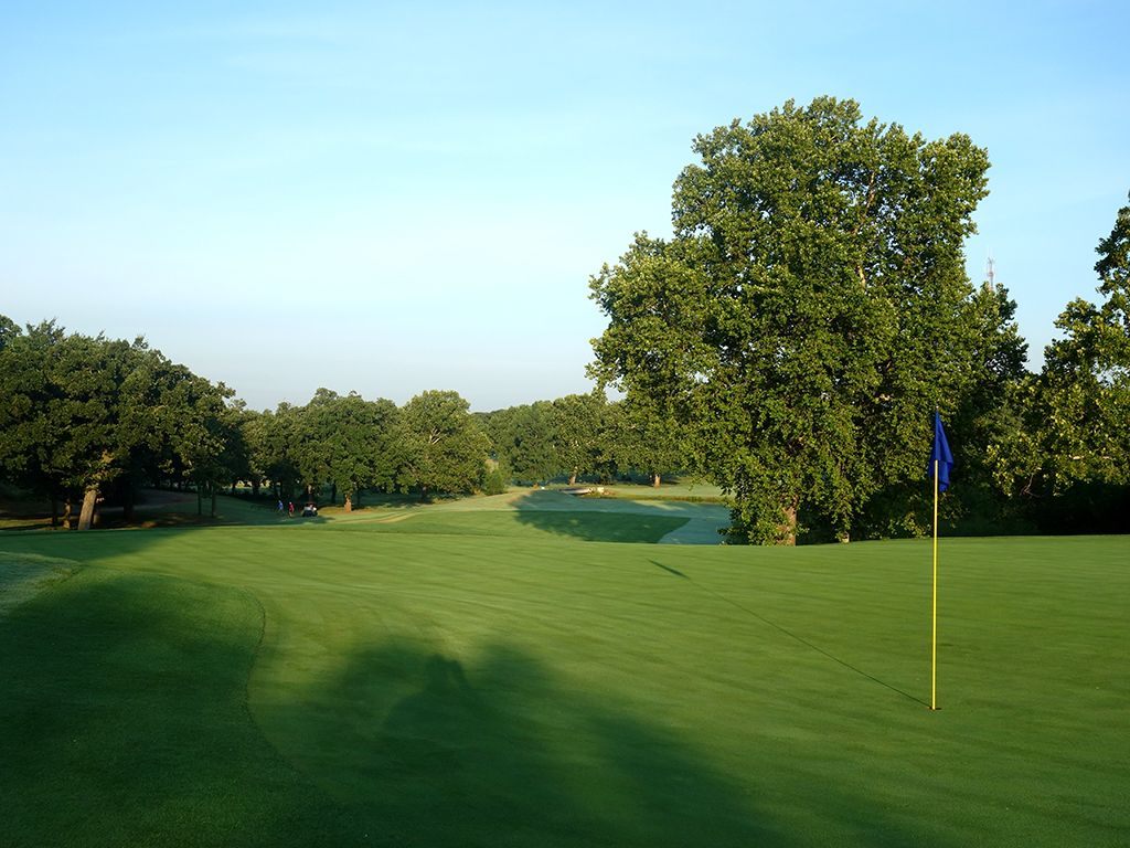 3rd Hole at Lincoln Park Golf Course (West) (380 Yard Par 4)