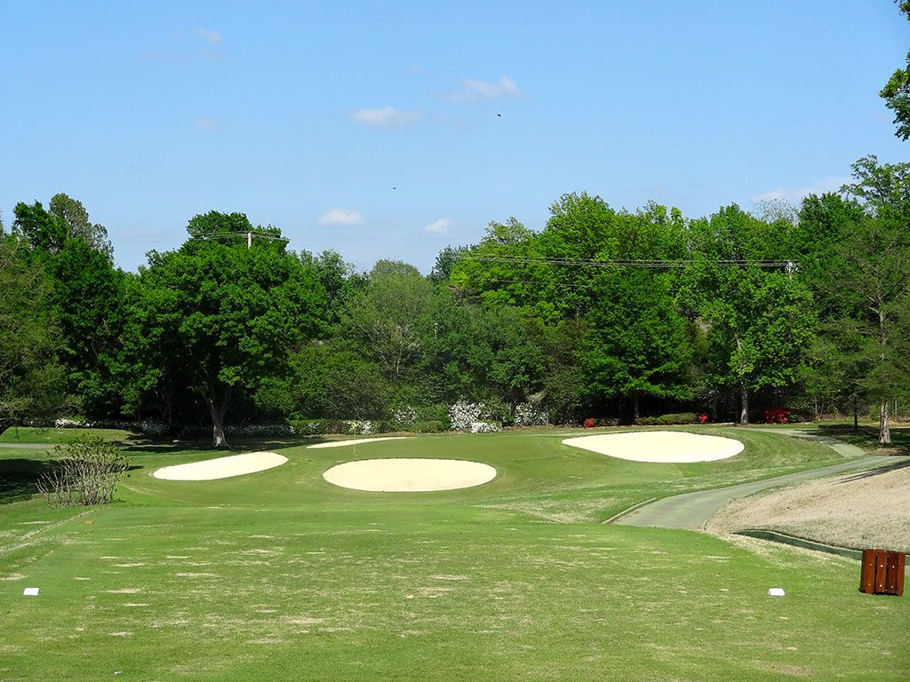 11th Hole at Southern Hills Country Club (173 Yard Par 3)