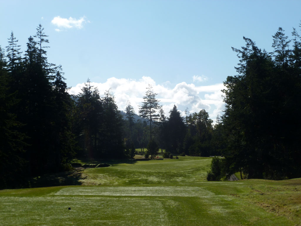 11th Hole at Bandon Crossings Golf Course (195 Yard Par 3)