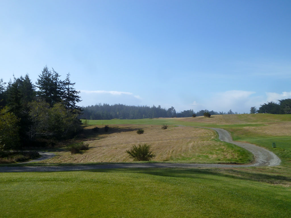 18th Hole at Bandon Crossings (570 Yard Par 5)