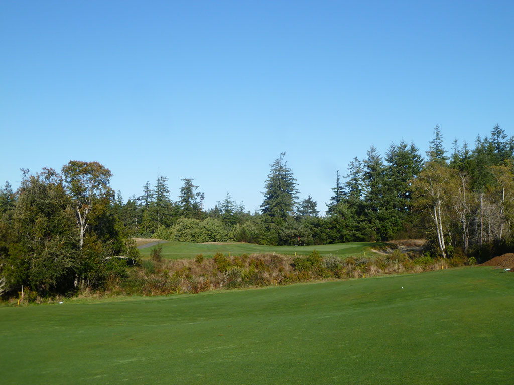 4th Hole at Bandon Crossings (495 Yard Par 5)