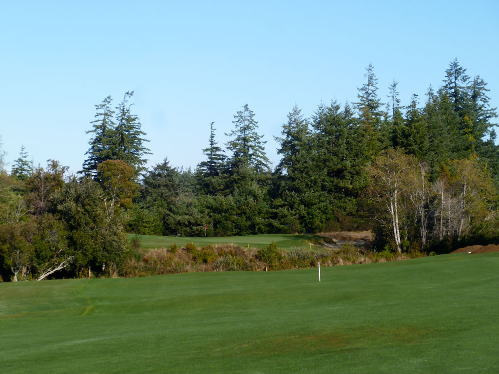 4th Hole at Bandon Crossings Golf Course (495 Yard Par 5)