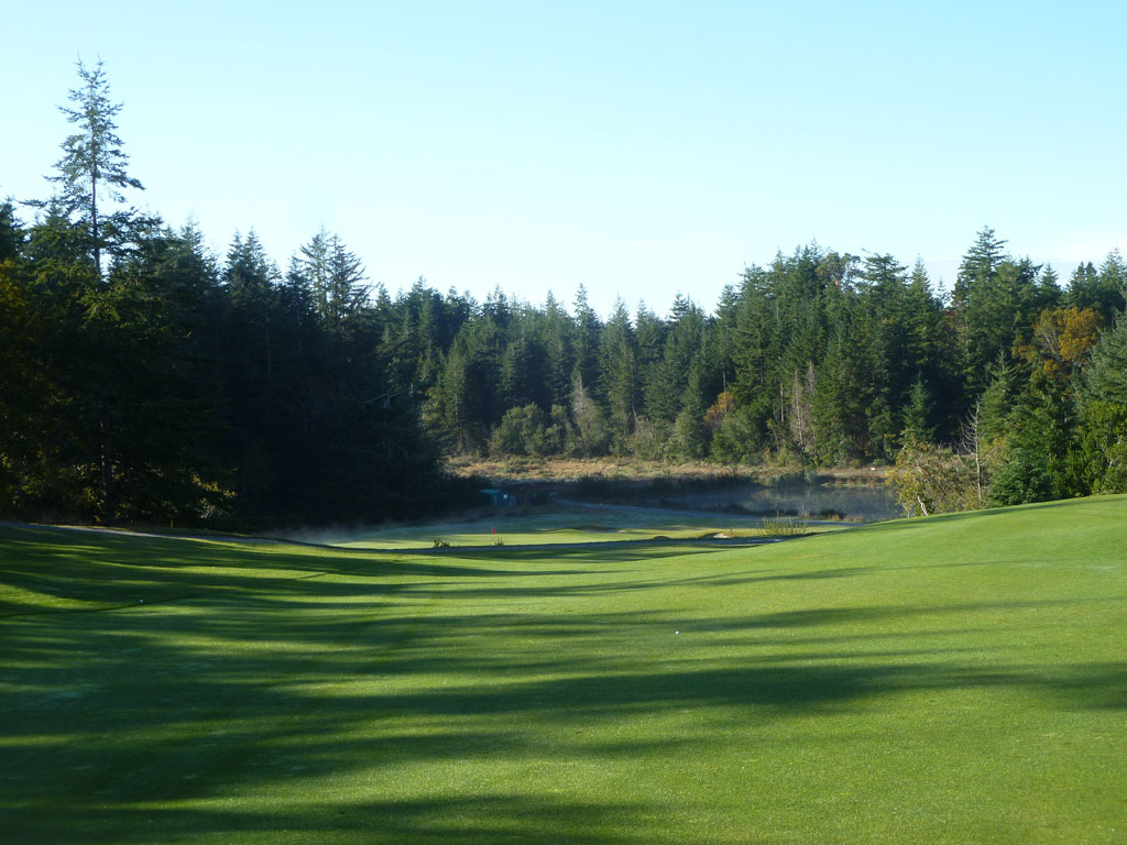 5th Hole at Bandon Crossings (545 Yard Par 5)