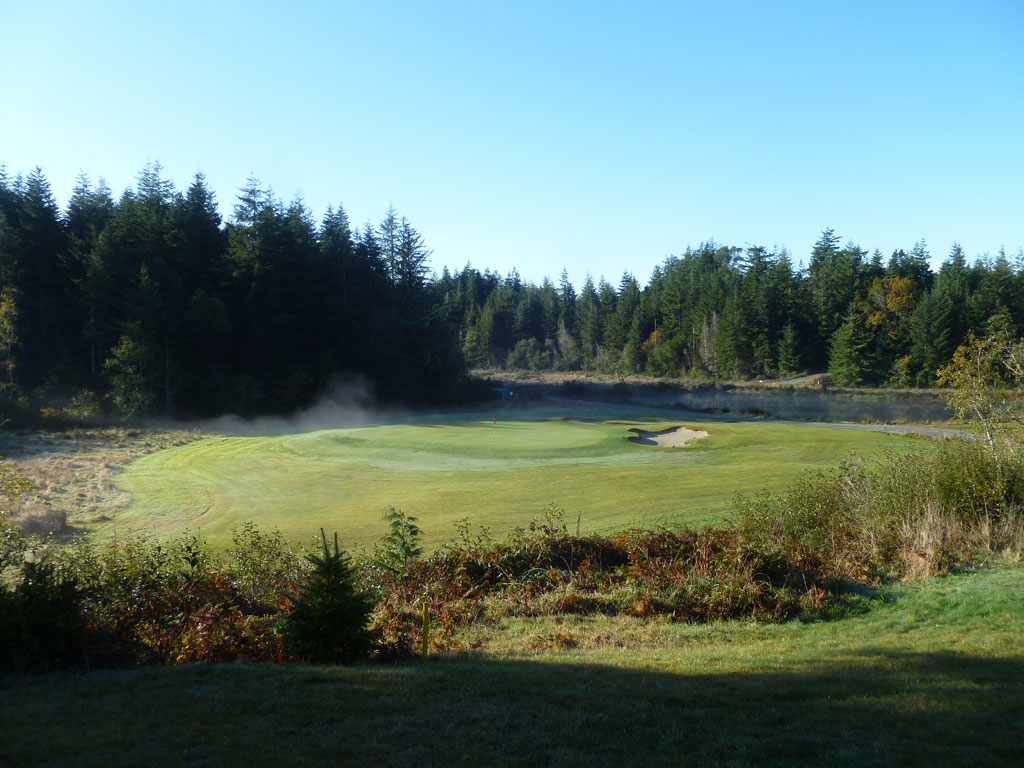 5th Hole at Bandon Crossings Golf Course (545 Yard Par 5)