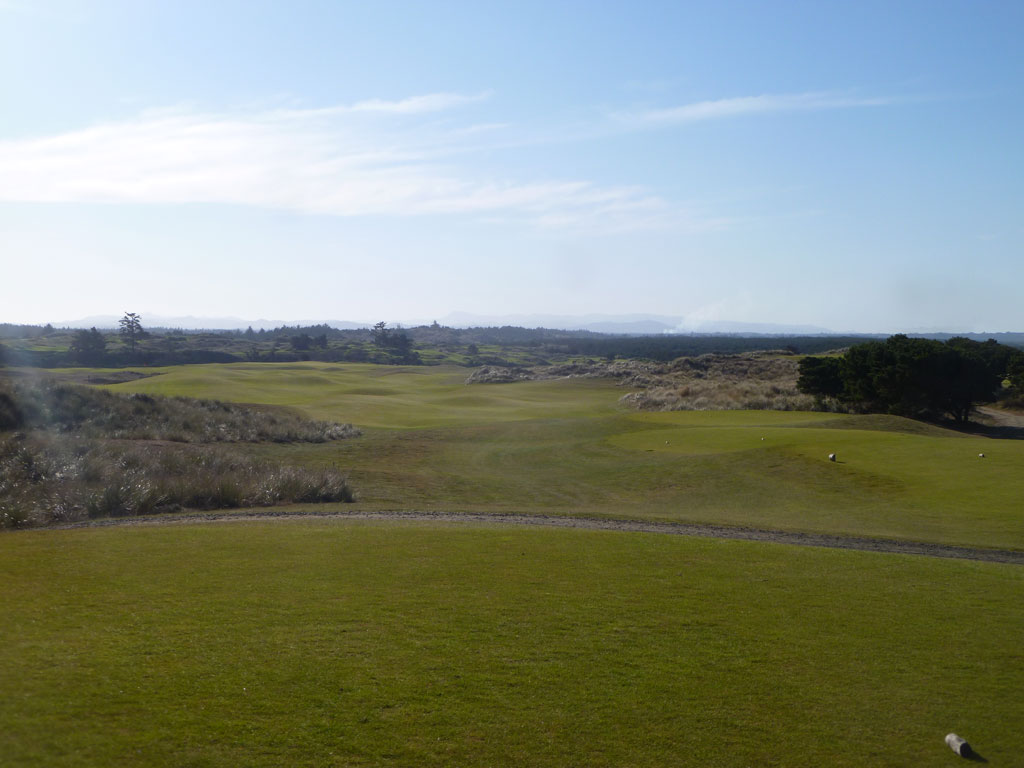 13th Hole at Bandon Dunes (553 Yard Par 5)