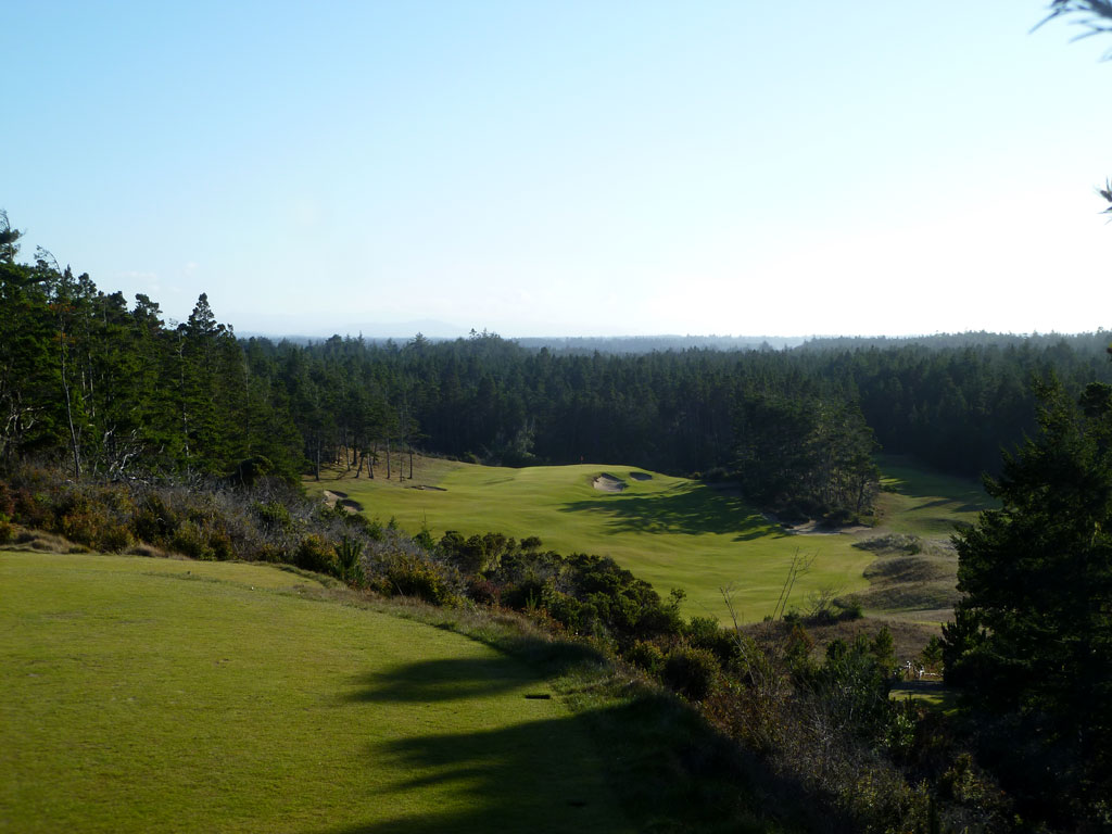 14th Hole at Bandon Trails (325 Yard Par 4)