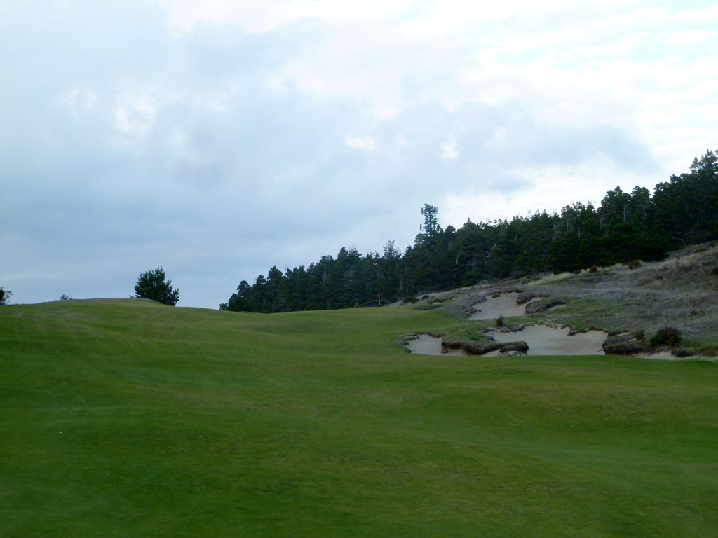 16th Hole at Bandon Trails (530 Yard Par 5)