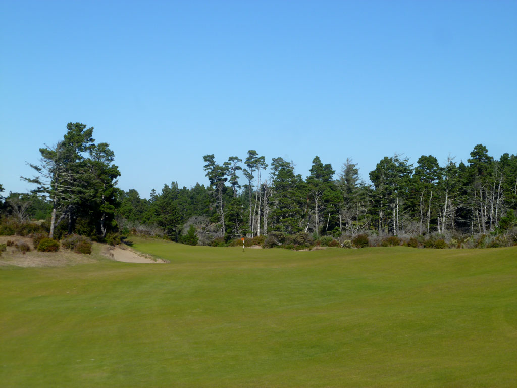 4th Hole at Bandon Trails (408 Yard Par 4)