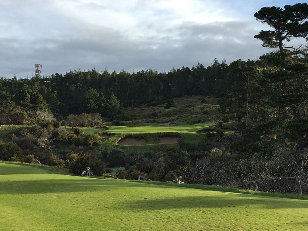 5th Hole at Bandon Trails (133 Yard Par 3)