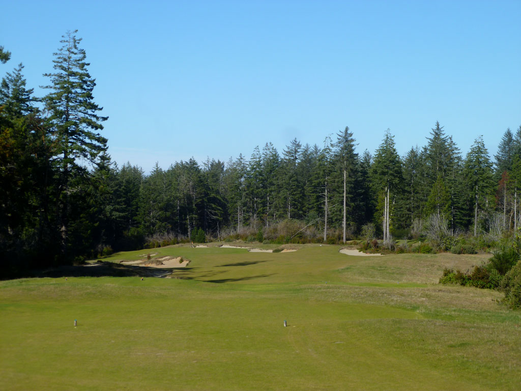 8th Hole at Bandon Trails (321 Yard Par 4)