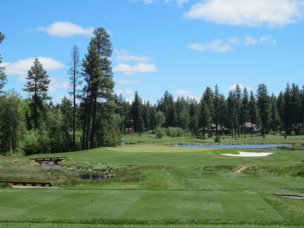 5th Hole at Black Butte Ranch (Glaze Meadow) (164 Yard Par 3)