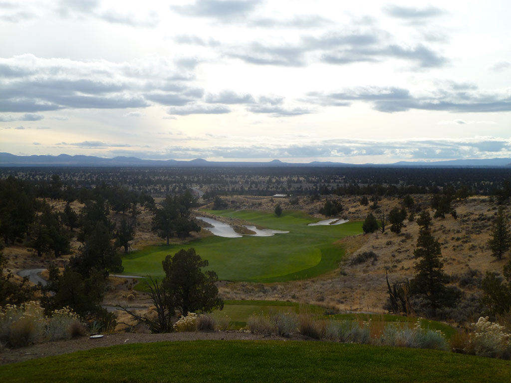 18th Hole at Brasada Ranch (584 Yard Par 5)