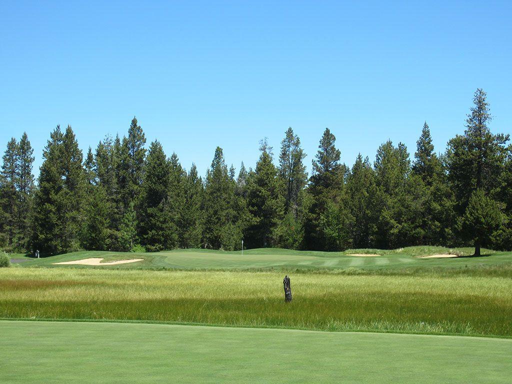 13th Hole at Crosswater Golf Club (171 Yard Par 3)