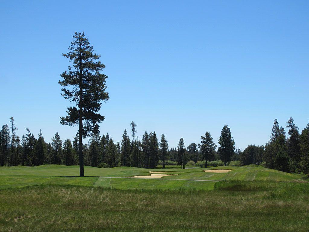 15th Hole at Crosswater Golf Club (414 Yard Par 4)