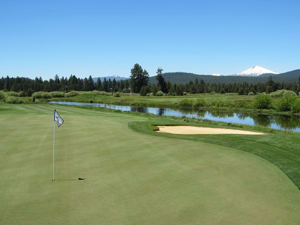 18th Hole at Crosswater Golf Club (456 Yard Par 4)