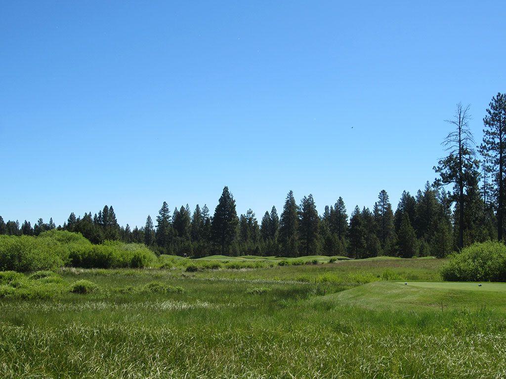 5th Hole at Crosswater Golf Club (460 Yard Par 4)