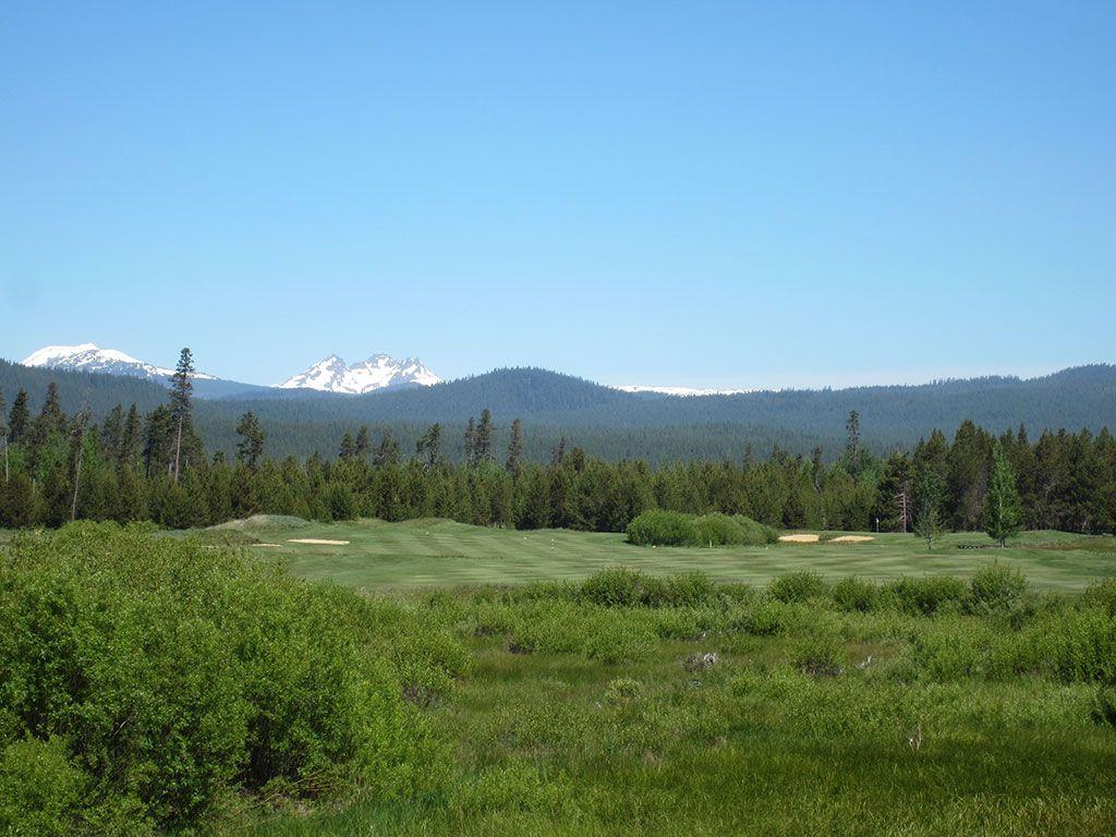 6th Hole at Crosswater Golf Club (635 Yard Par 5)