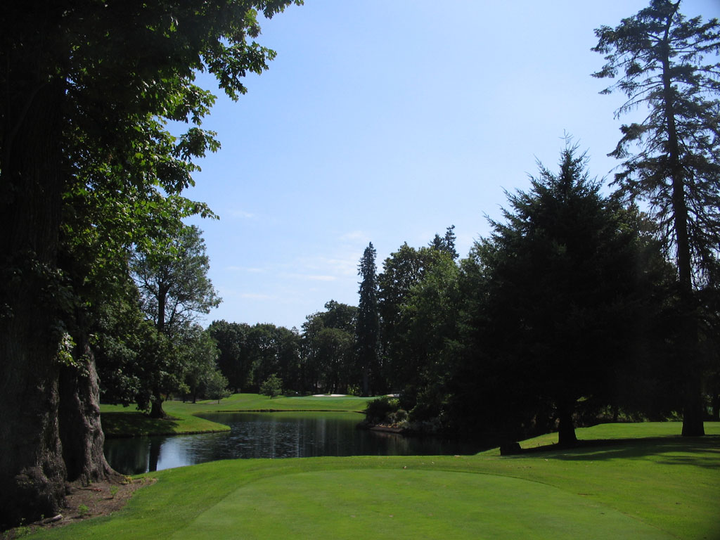 12th Hole at Eugene Country Club (183 Yard Par 3)