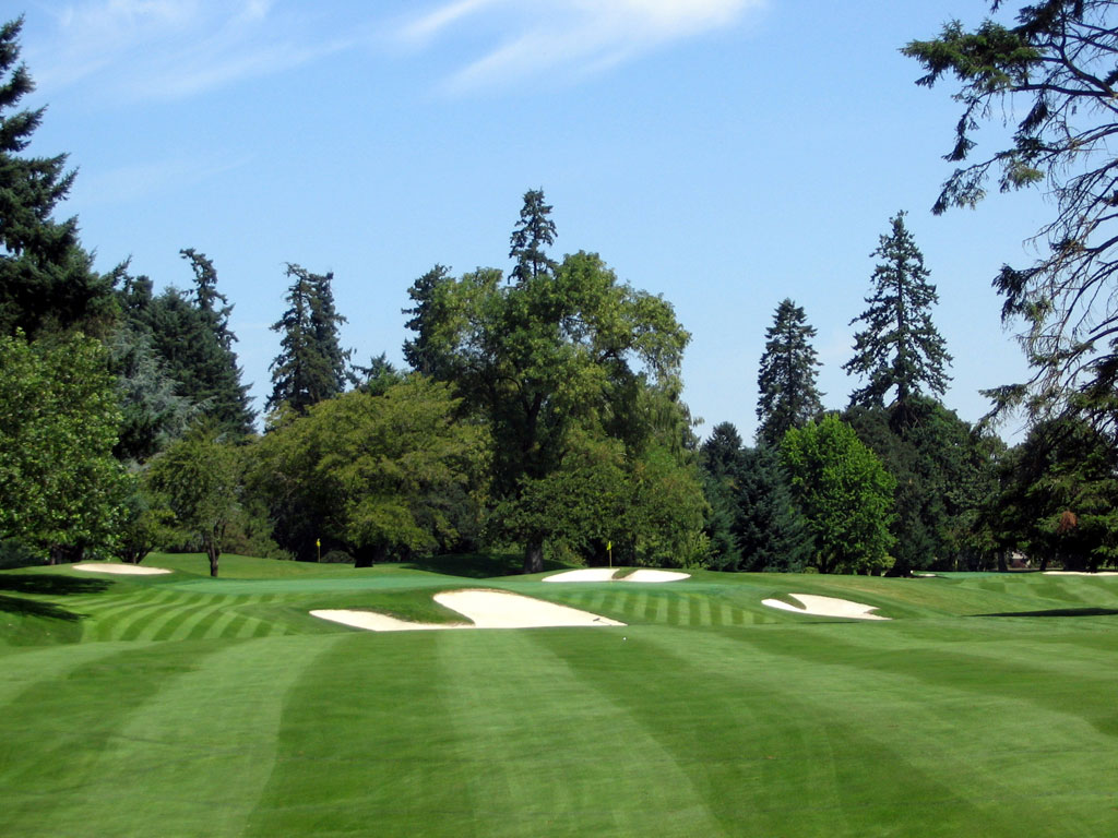 15th Hole at Eugene Country Club (440 Yard Par 4)