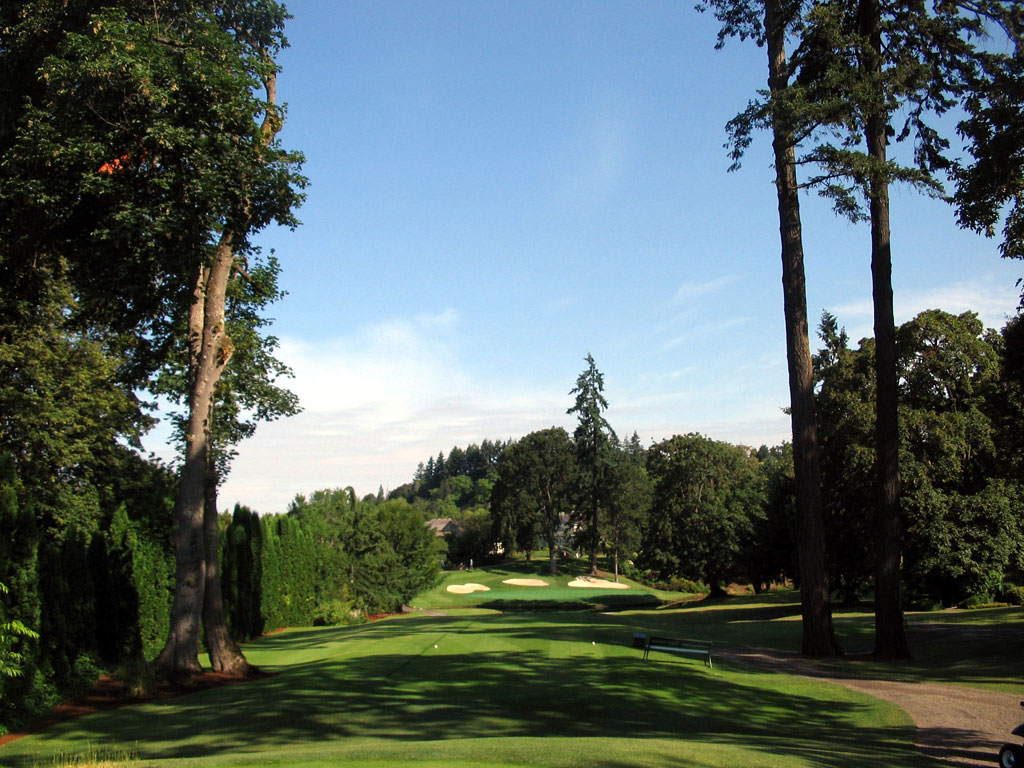 5th Hole at Eugene Country Club (192 Yard Par 3)