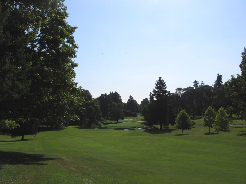 6th Hole at Eugene Country Club (545 Yard Par 5)