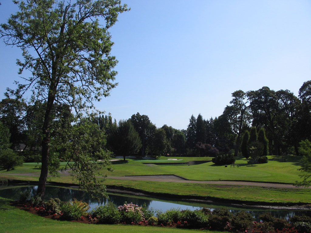 7th Hole at Eugene Country Club (200 Yard Par 3)
