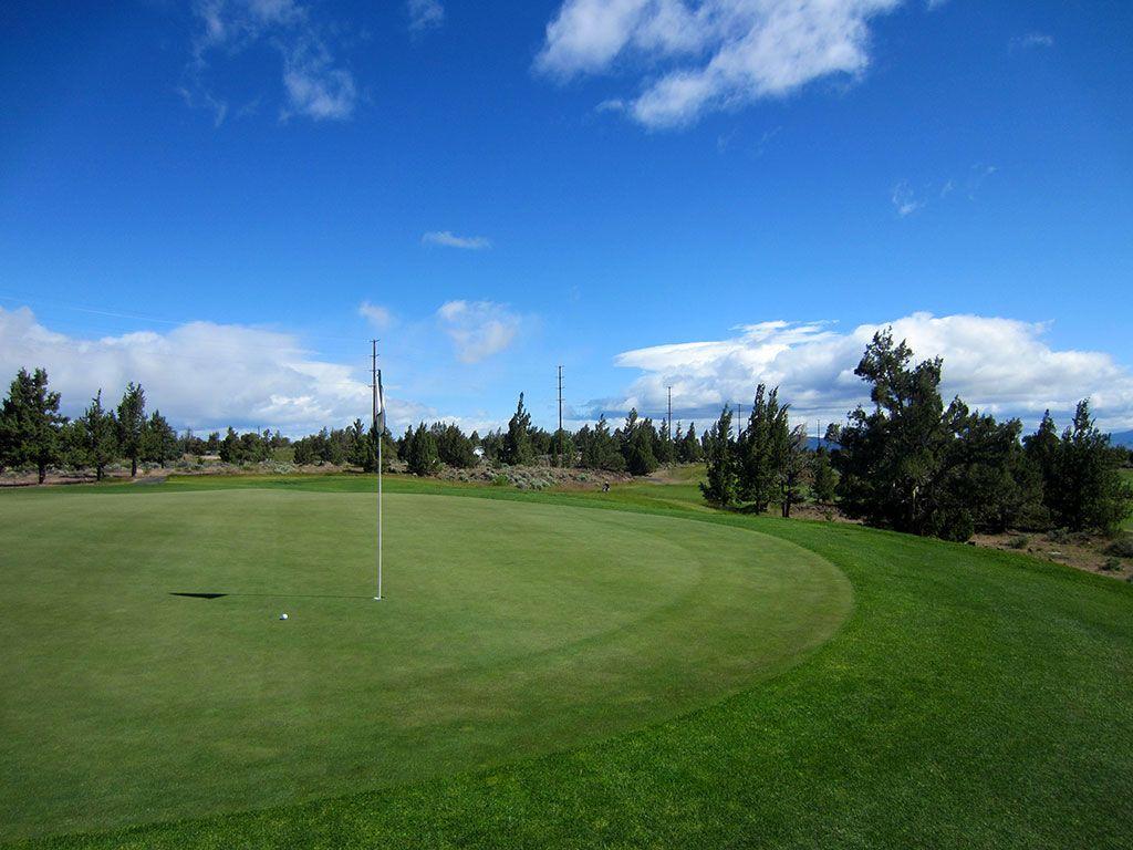 12th Hole at Juniper Golf Course (270 Yard Par 4)