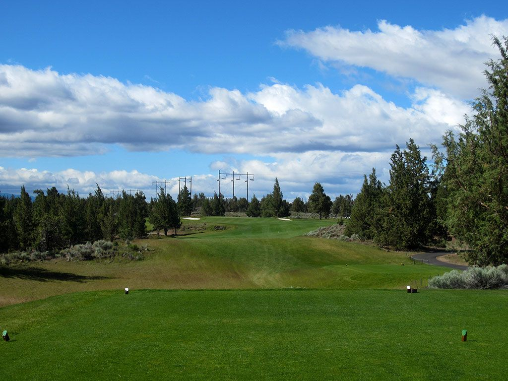 12th Hole at Juniper Golf Course (270 Yard Par 4)