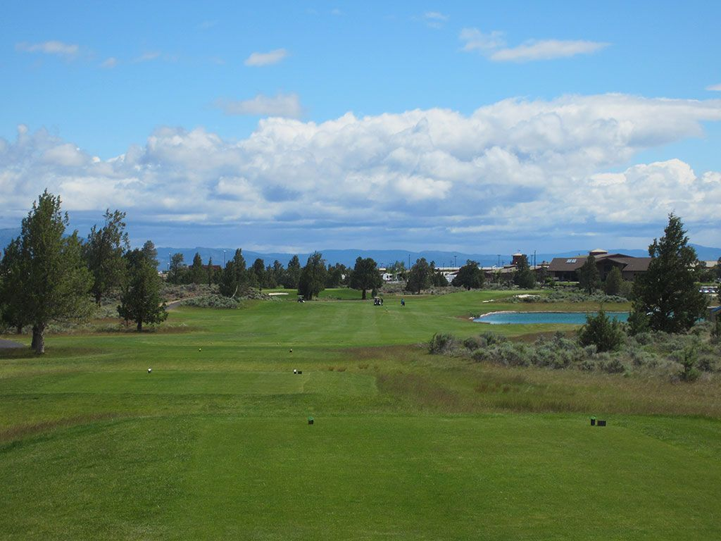 18th Hole at Juniper Golf Course (526 Yard Par 5)