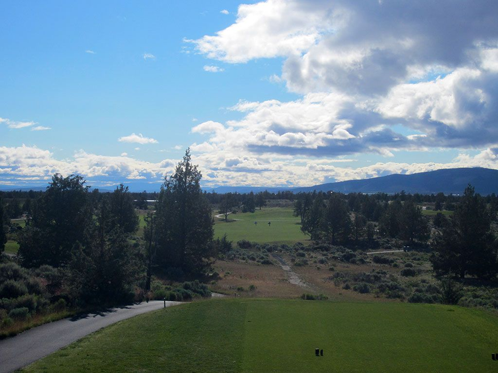 6th Hole at Juniper Golf Course (651 Yard Par 5)