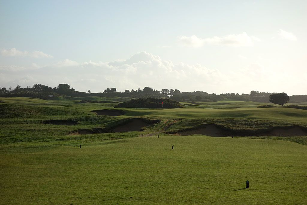The Redan 12th Hole at Old Macdonald