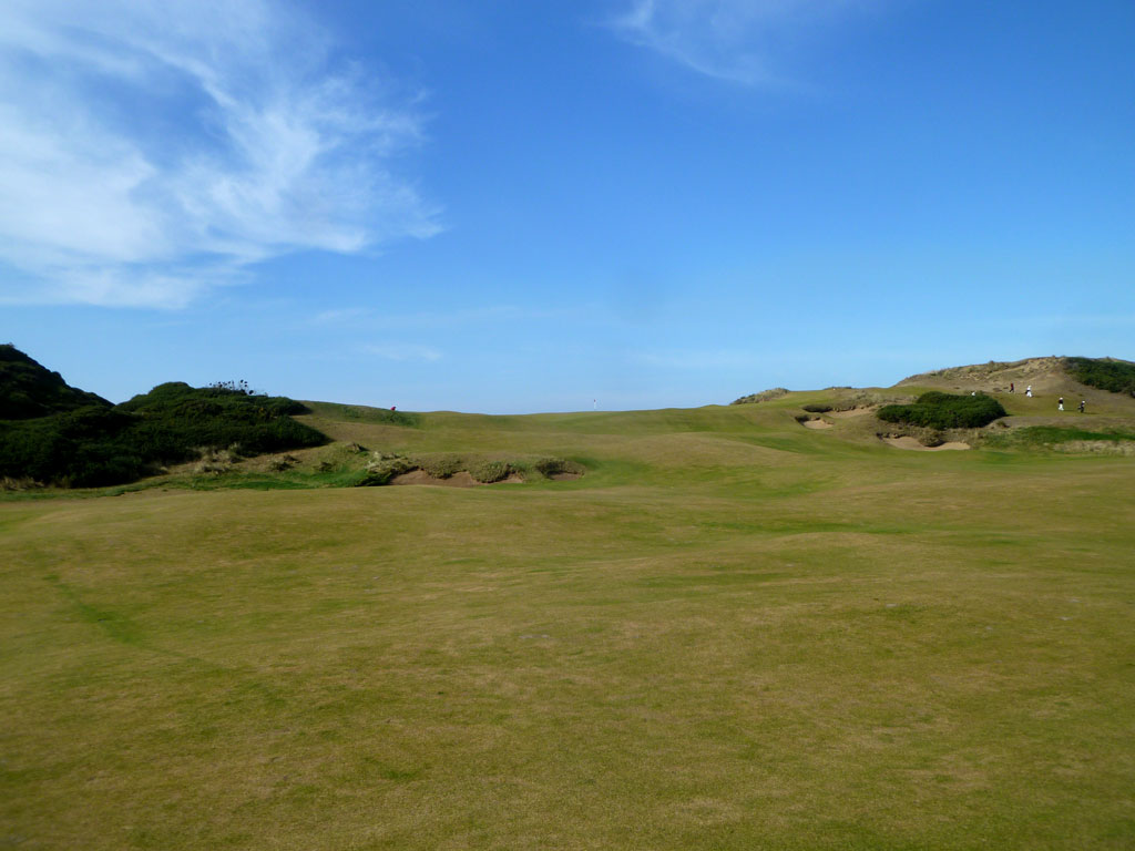 7th (Ocean) Hole at Old Macdonald (363 Yard Par 4)