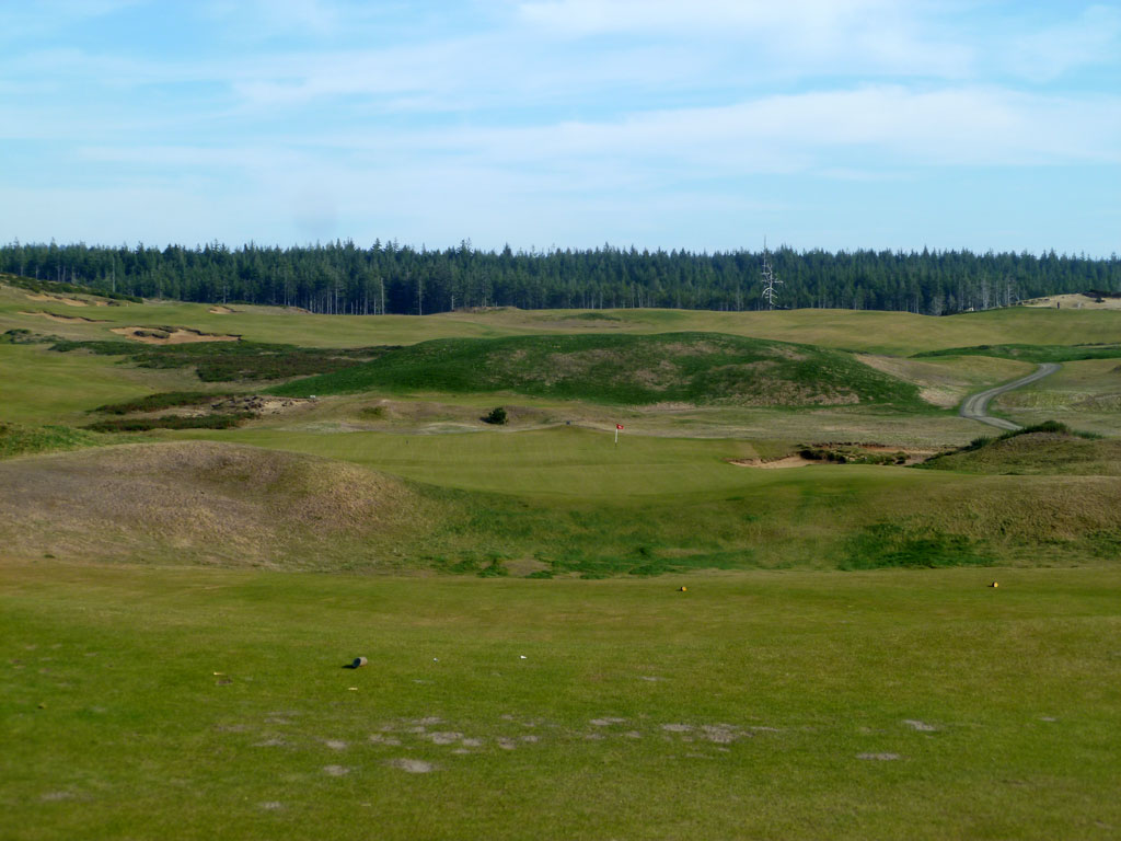 8th (Biarritz) Hole at Old Macdonald (181 Yard Par 3)