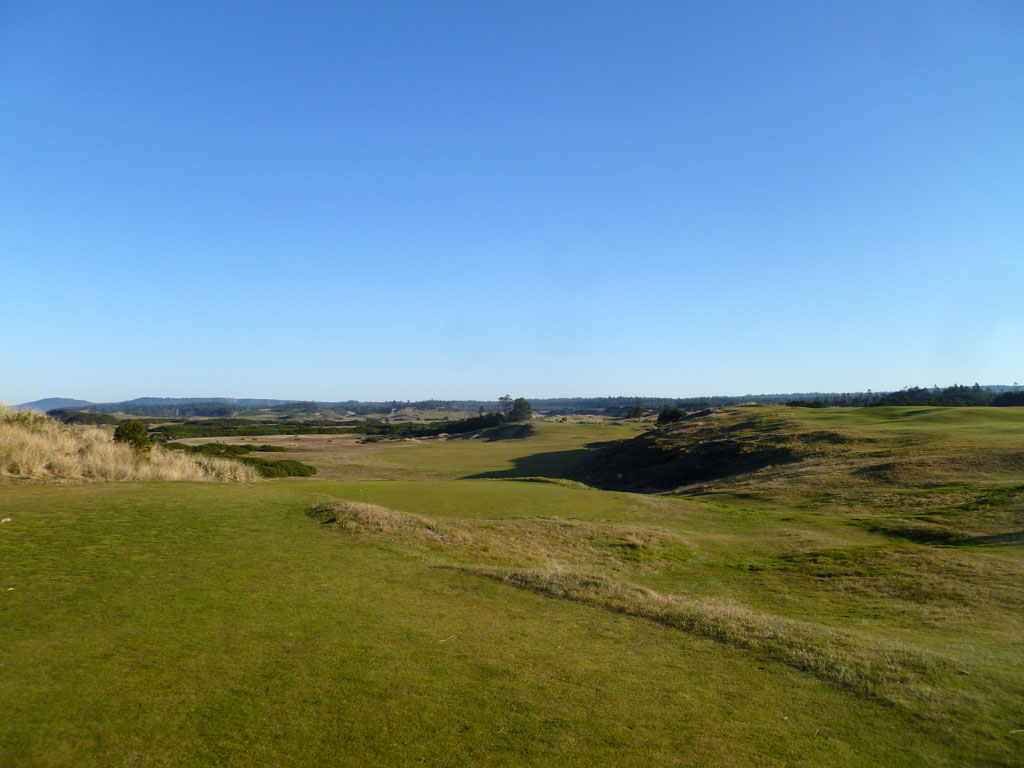 6th Hole at Pacific Dunes (316 Yard Par 4)