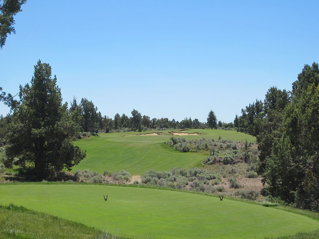14th Hole at Pronghorn Golf Club (Fazio) (312 Yard Par 4)