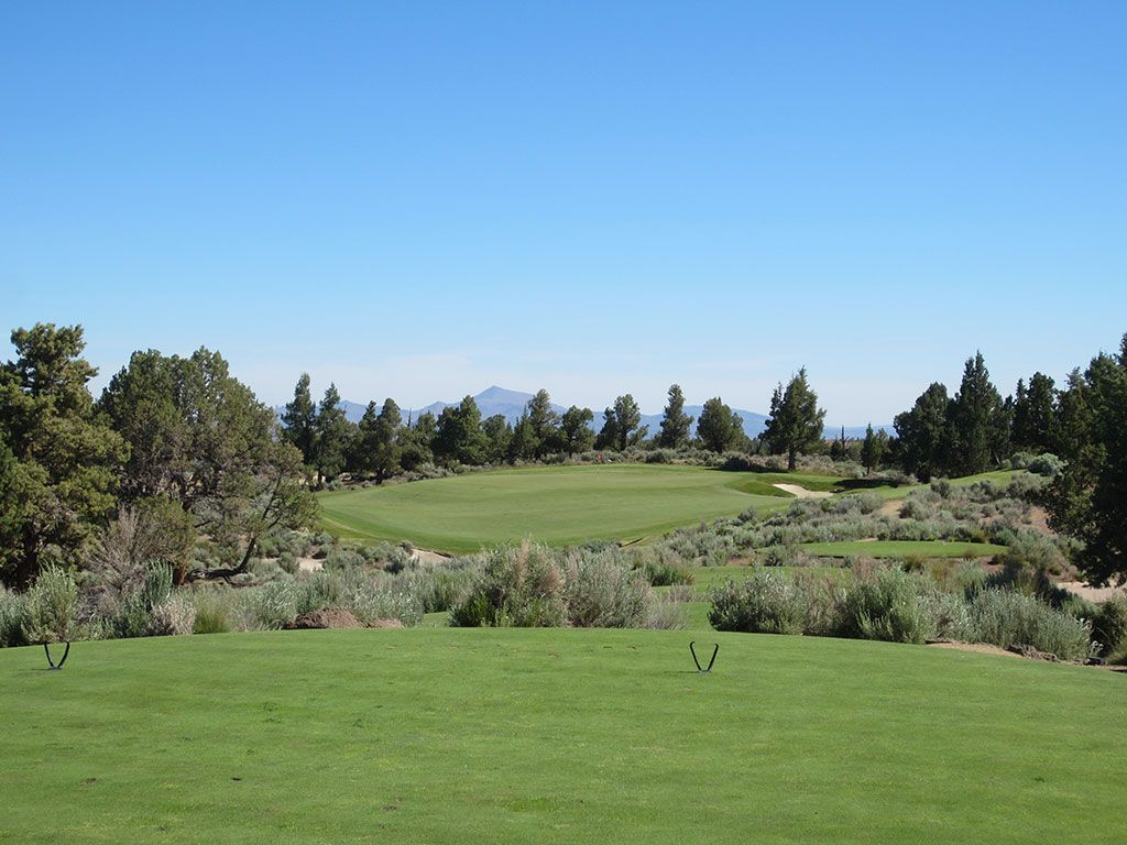 7th Hole at Pronghorn Golf Club (Nicklaus) (187 Yard Par 3)