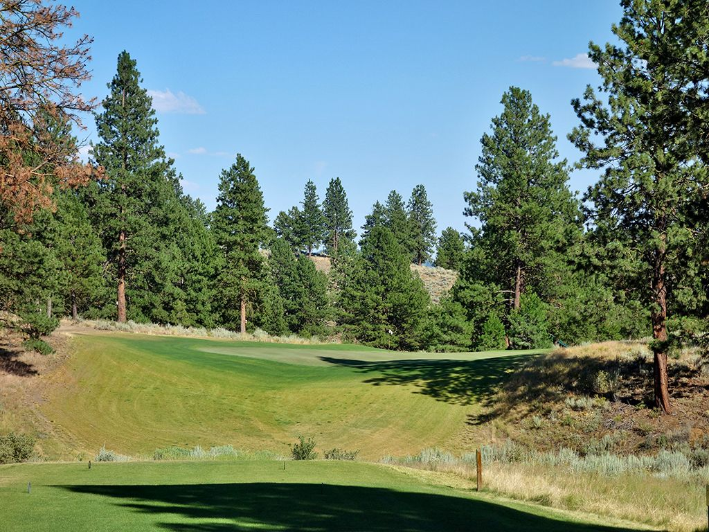 12th Hole at Silvies Valley Ranch (Craddock) (190 Yard Par 3)